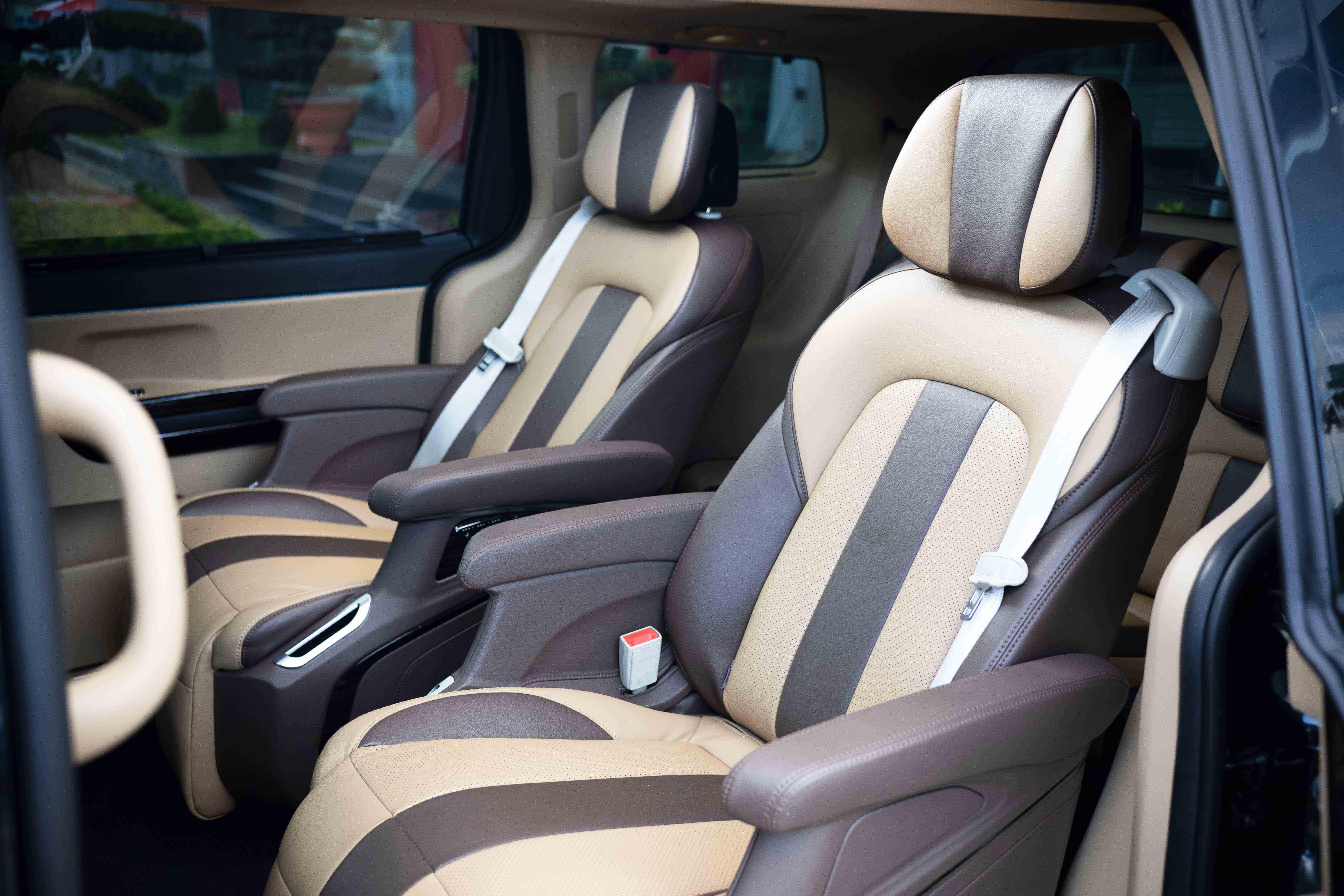 Thiết kế kiểu mới cho ghế VIP
