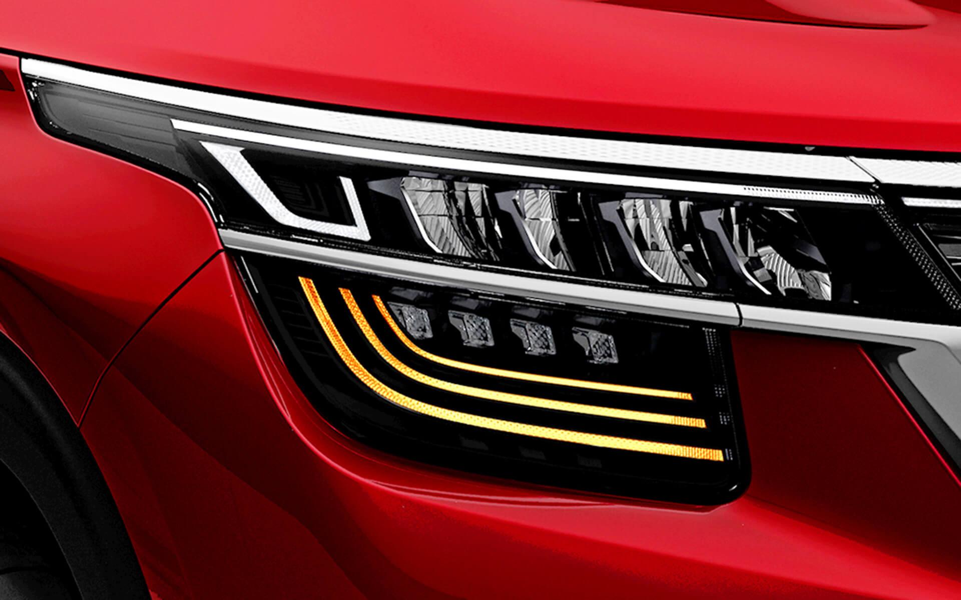 Đèn tín hiệu chuyển hướng đa tầng công nghệ LED với hiệu ứng 3D