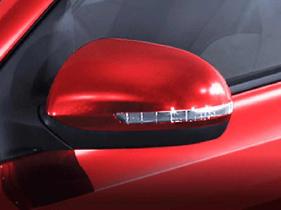 Gương chiếu hậu chỉnh điện tích hợp đèn báo rẽ LED