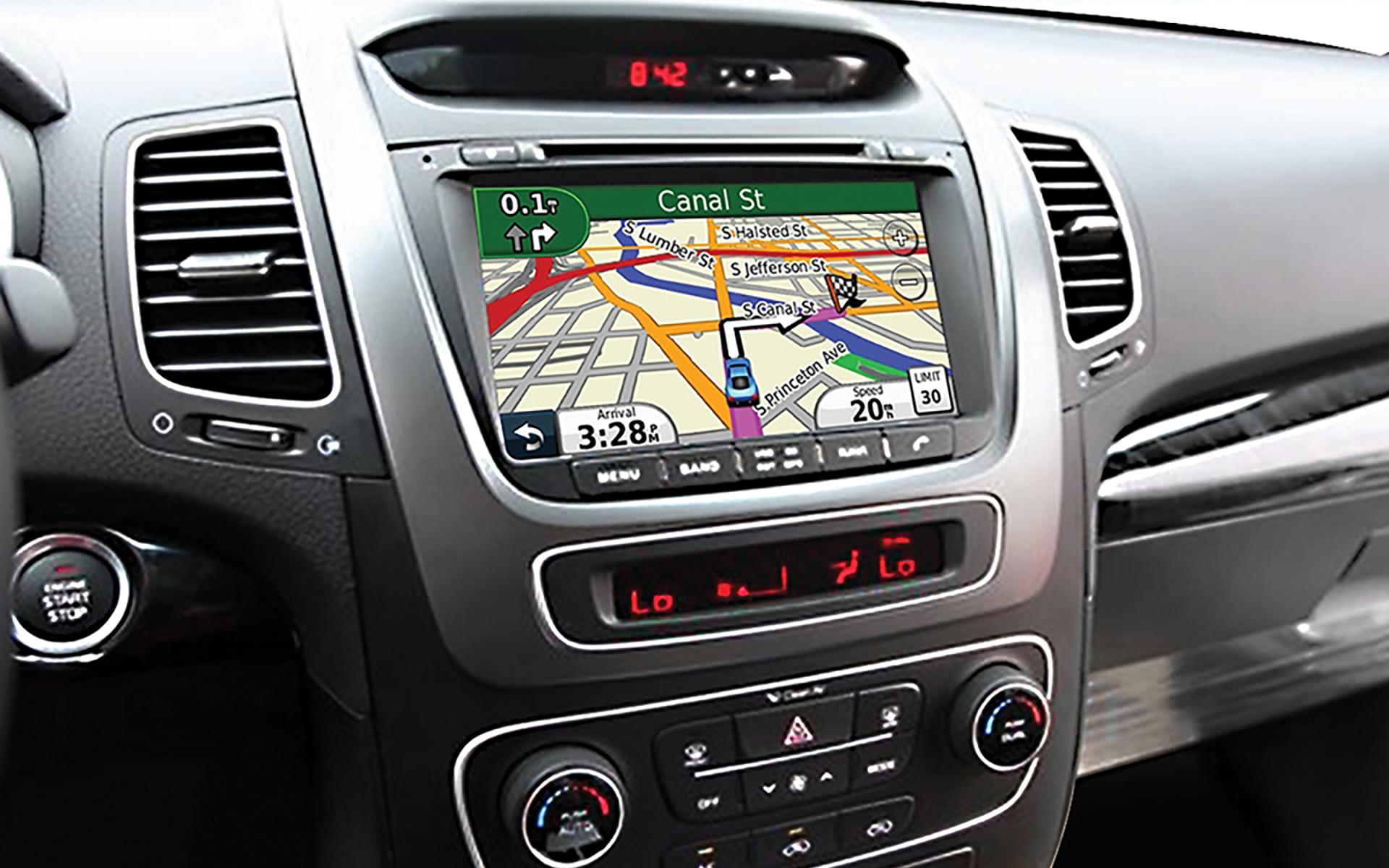 Màn hình cảm ứng DVD tích hợp GPS
